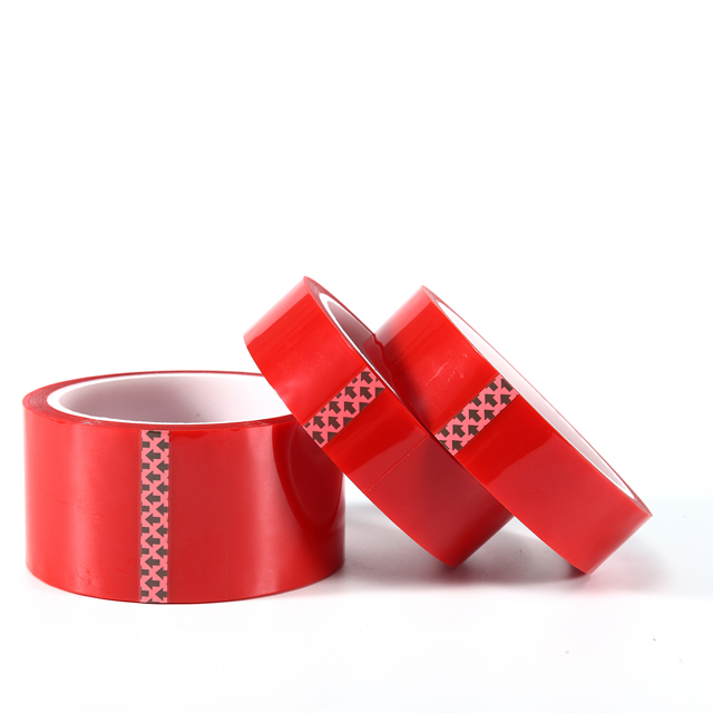 Red PET Silicone Tape