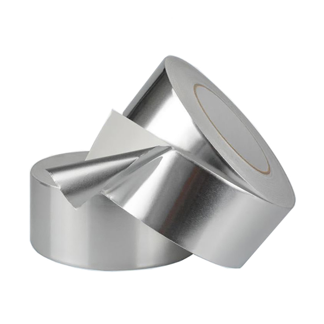 Single guide aluminum foil tape
